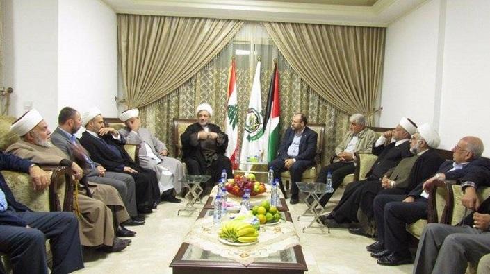 Sünni ve Şii Alimlerden Hamas'a Ortak Ziyaret