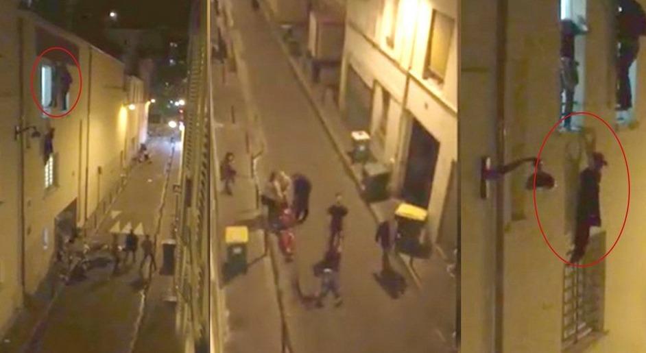 Paris'teki Saldırıların İlk Dakikaları | VIDEO