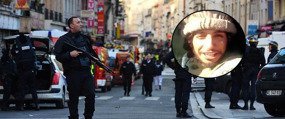 Paris Saldırganı Öldü