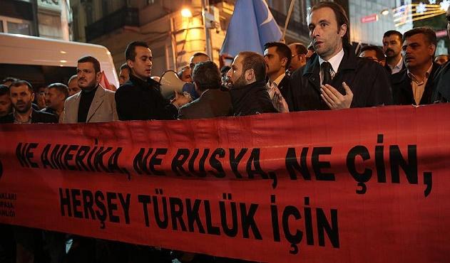İstanbul'da Bayırbucak Protestosu