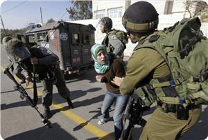 İşgal Güçleri Bıçak Taşıdığı İddiasıyla Filistinli Genç Kızı Tutukladı