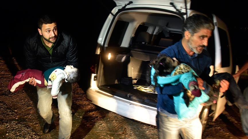 Muğla'da Sığınmacıları TaşıyanTekne Battı