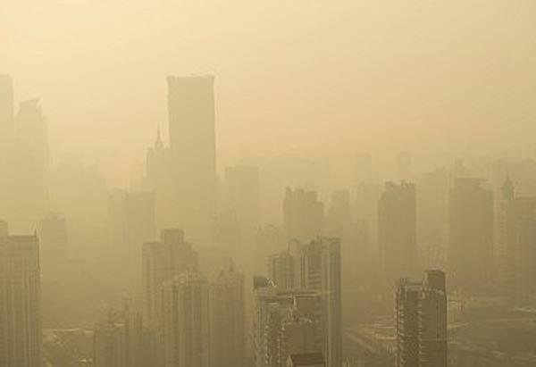 Çin'de Hava Kirliği Sarı Alarmda