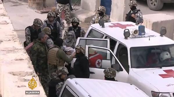 Lübnan ve Nusra Arasında Esir Takası Yapıldı