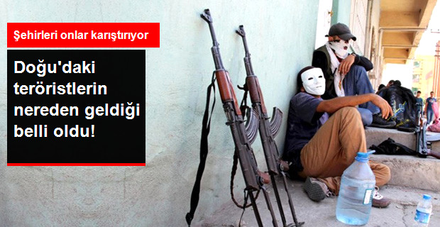 Kobani'den Türkiye'ye 10 Bin Terörist Girdi