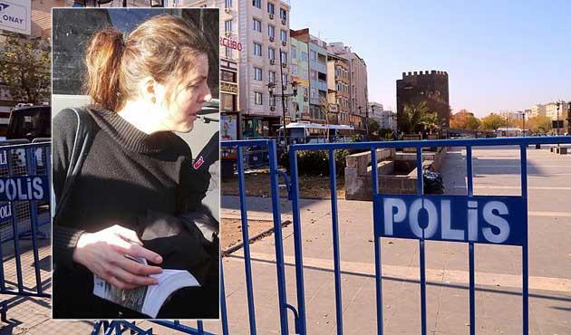 Sur'da İtalyan Kadın Gözaltına Alındı