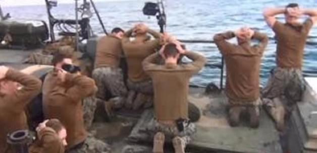 İran, ABD Askerlerini Böyle Gözaltına Aldı