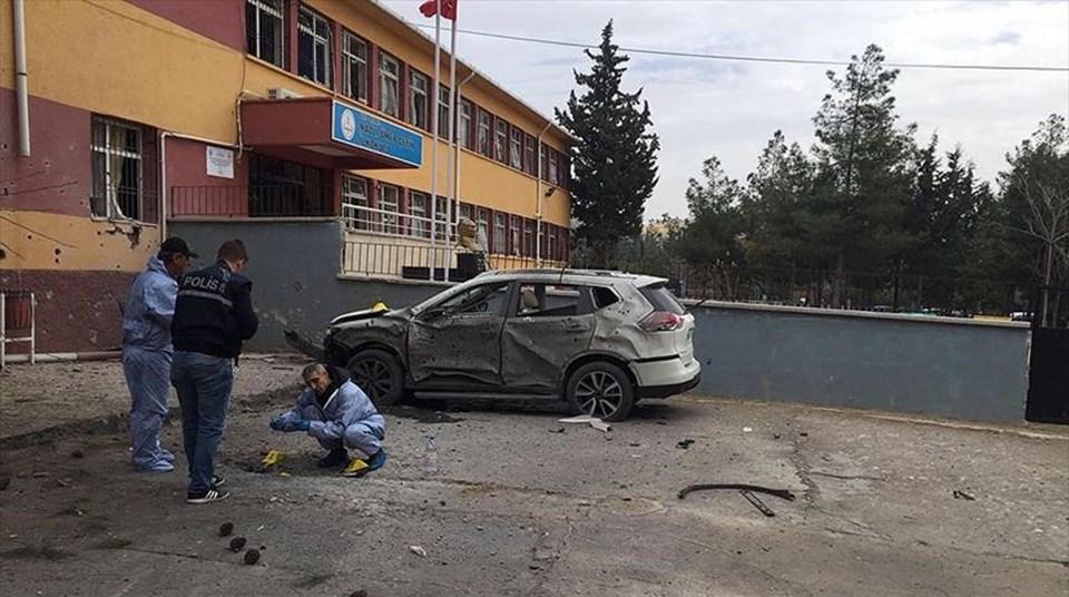 Kilis'te Okula Havan Topu Düştü: 2 Ölü 2 Yaralı