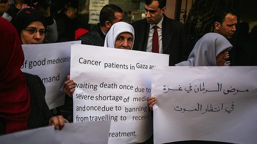 Kanser Hastaları Eylem Yaptı