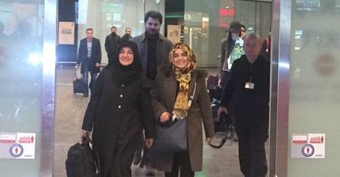 Gülden Sönmez İstanbul'a Döndü