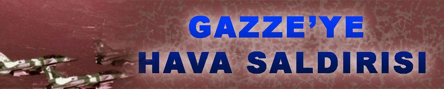 İsrail, Gazze'yi SİHA'larla Vurdu