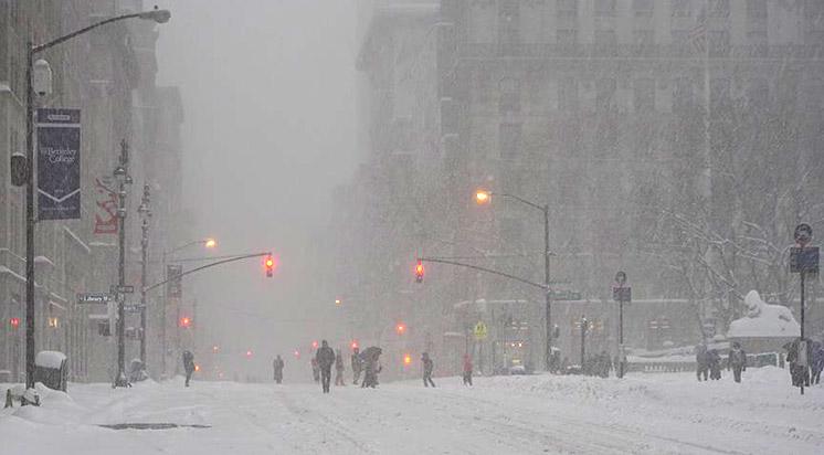 ABD'deki Kar Fırtınasında Ölü Sayısı Arttı
