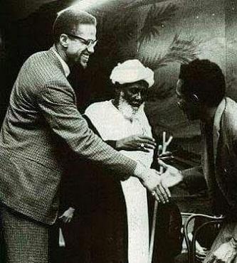 Malcolm X'in BilinmeyenFotoğrafı...