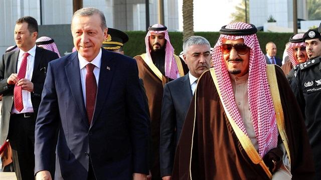 Erdoğan Çin'de  Suud  Prensiyle Görüştü