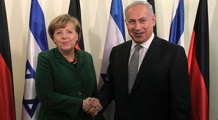 Netanyahu'dan Merkel'e Teşekkür