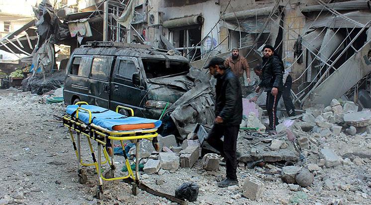 30 Eylül'den Beri 27  Sağlık Merkezi Vuruldu