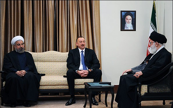 Azerbaycan  Lideri Tahran'a Gidiyor