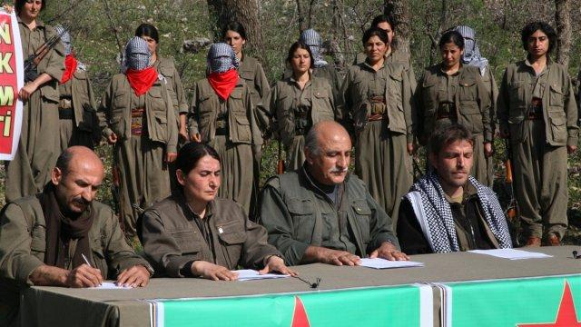 PKK ve 8 Terör Örgütü Türkiye'ye Karşı Birleşti