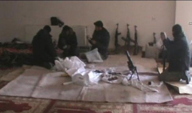 PKK'lılar Cami içinde Bomba Hazırladı