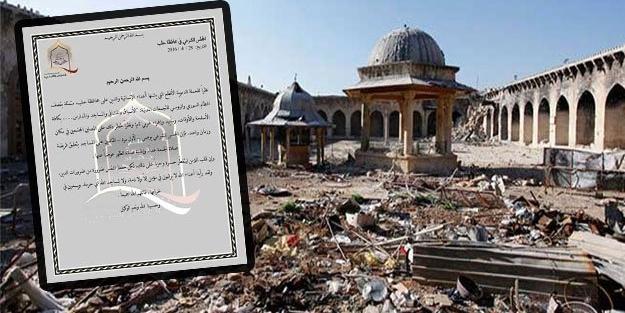 Halep'te Cuma Namazı artık kılınmayacak!