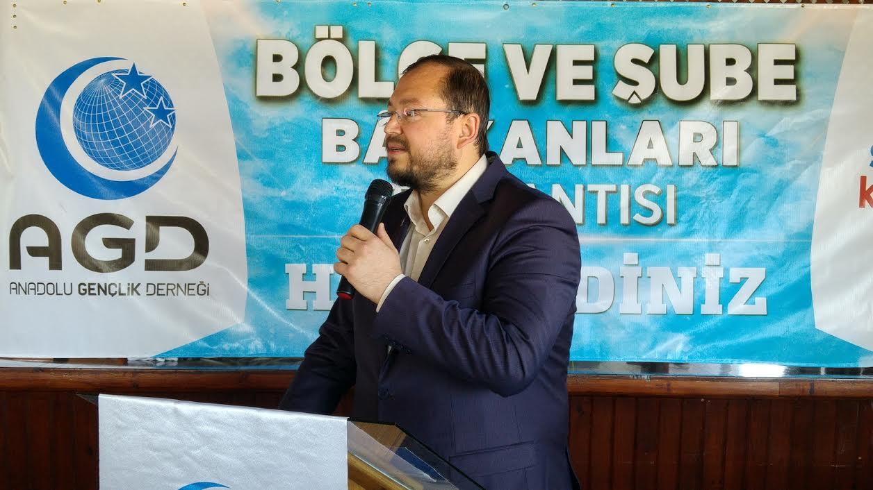 AGD Başkanı : Türkiye Oturduğu Sofrada Lokma Olduğunu Gördü