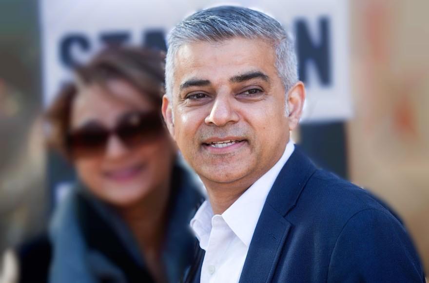 """Londra'nın İlk """"Müslüman"""" Başkanından Siyonistlere Destek"""