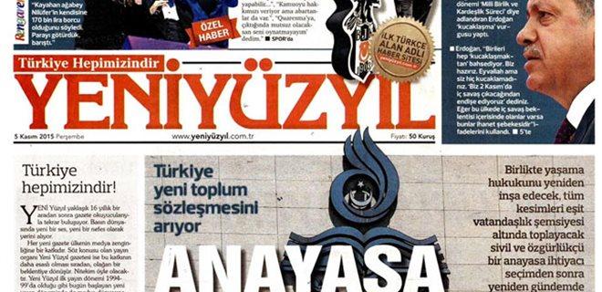 Yeni Yüzyıl Gazetesi Kapandı
