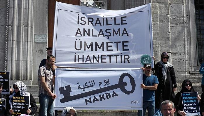 """""""İsrail İle Anlaşma Ümmete İhanettir"""""""