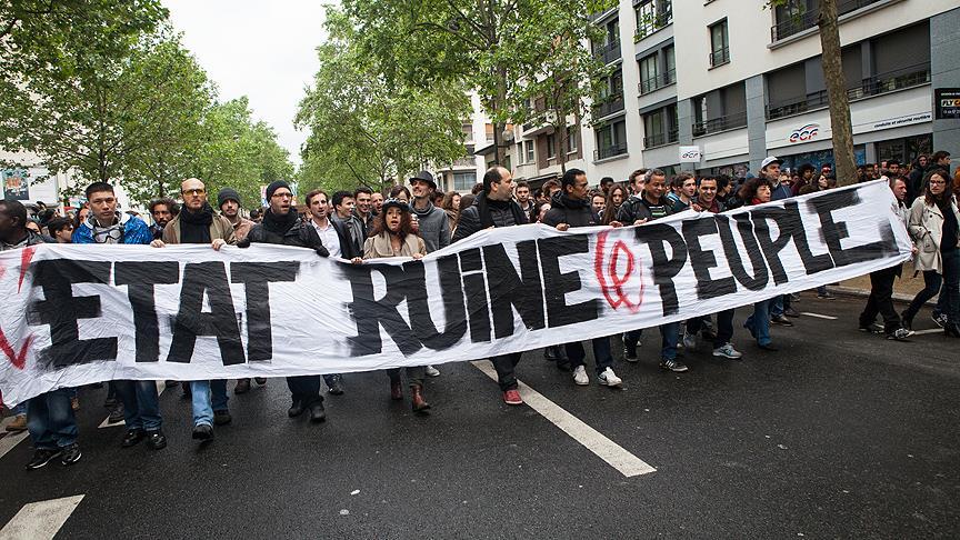 Fransa'da Nükleer Santralde De Grev Var