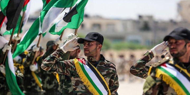 Gazze'de  Mücahitler Meydan Okudu