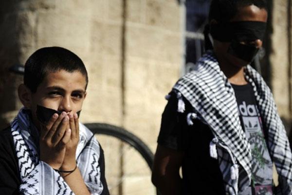 Filistinli Çocuklara İşkence