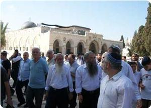Yahudi Yerleşimciler Gruplar Halinde Mescid-i Aksa'ya Baskın Düzenledi