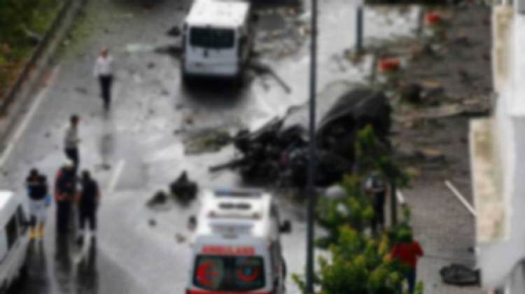 İstanbul'daki Patlama Dünya Basınında