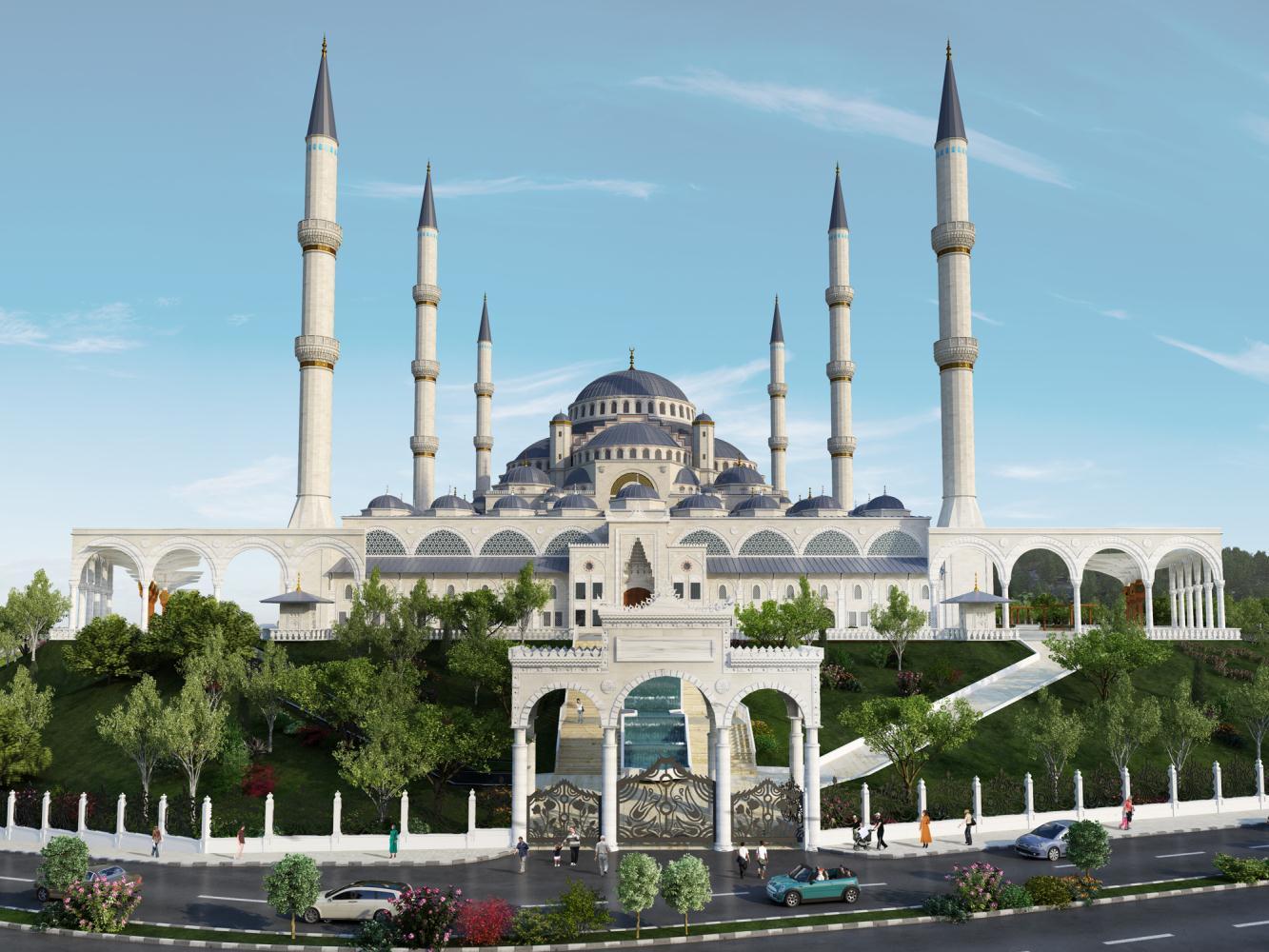 Çamlıca Camii'nde ilk Namaz Tarihi