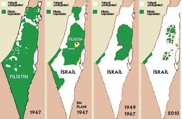 Gazze Siyasi Haritası