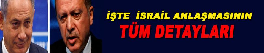 İsrail Anlaşmasının Madde Madde  Tüm Detayları