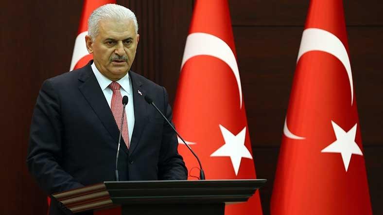 Başbakan Yıldırım'dan Terör Saldırısı Açıklaması