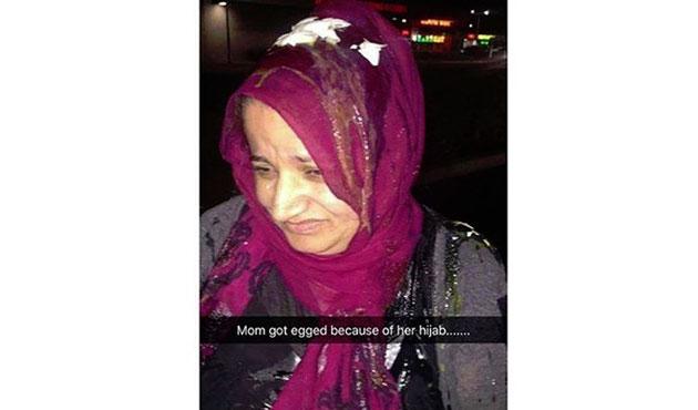 ABD'de Başörtülü Kadına Saldırı