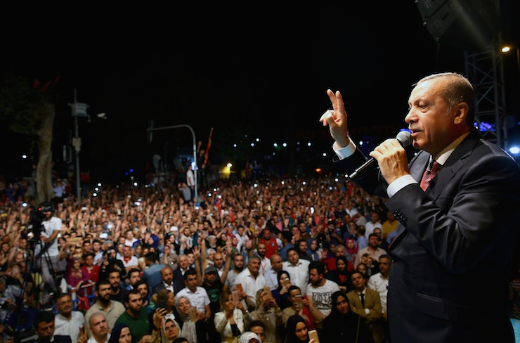 Erdoğan'dan ABD'ye Sen Kim Oluyorsun