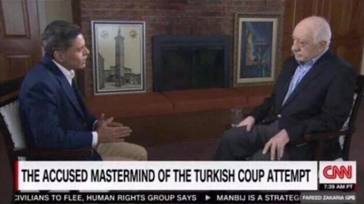 Gülen'in Röportajında PKK Sembolü