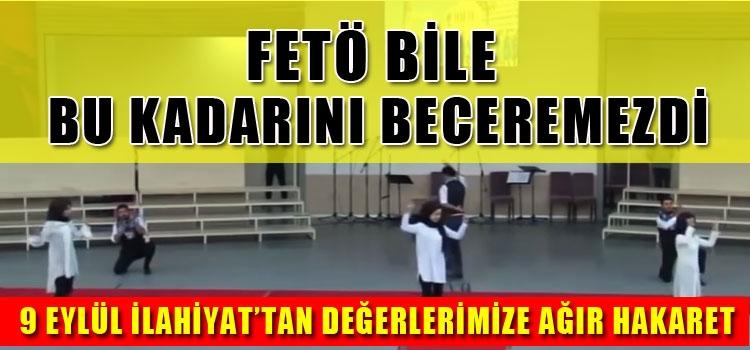 Dokuz Eylül İlahiyat'tan Skandal Mezuniyet Töreni!