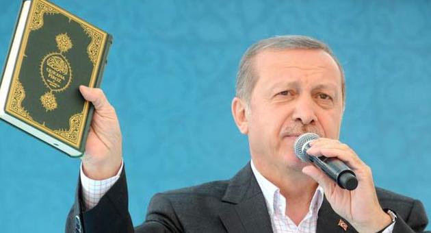 Erdoğan Şehit Evinde Kur'an Okudu Dua Etti!