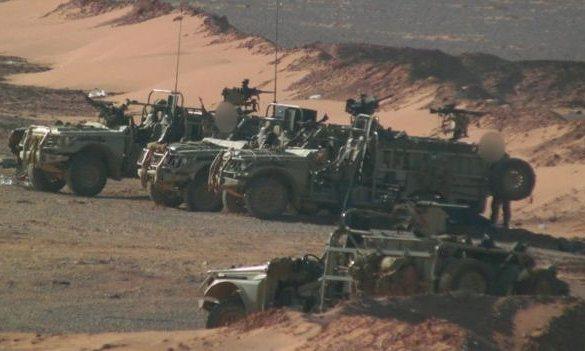 İngiliz Askerler Suriye'de  (FOTO)