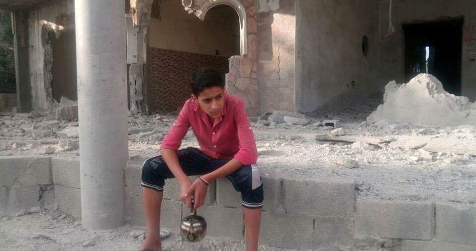 Siyonist Askerler  Filistinli Şehidin Evini Patlayıcıyla Yıktı