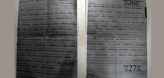 FETÖ'nün tutuklanan savcısının günlüğündeki yazı