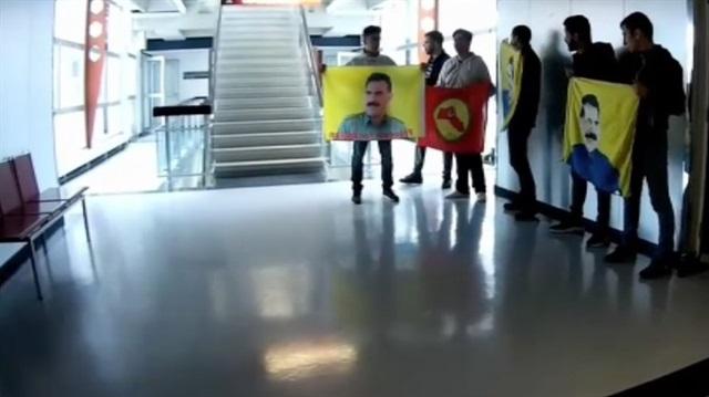 Viyana'da PKK Televizyon Bastı