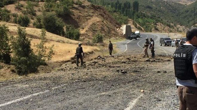 Bitlis 'te Bombalı Saldırı