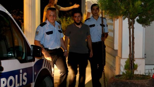 İstanbul'daki İsrail protestosunda 5 kişi gözaltına alındı