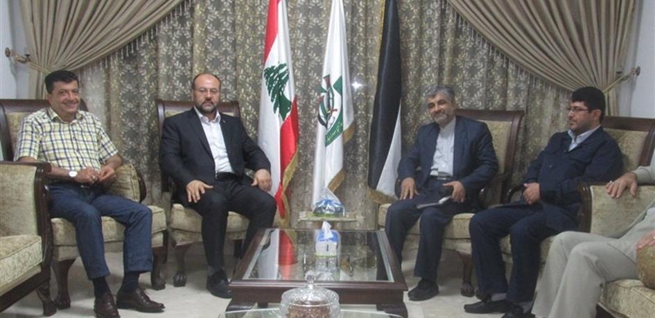 Hamas ve İran Heyetleri Beyrut'ta Bir Araya Geldi