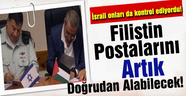 Filistin Postalarını Artık Doğrudan Alabilecek!